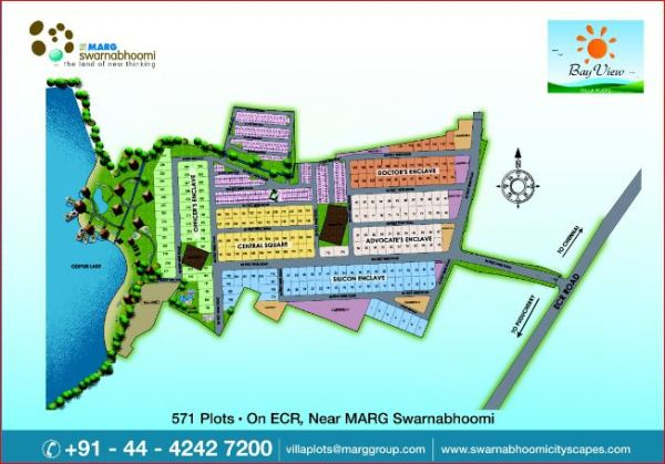 Gated Community Beach Plots At Ecr Marg Limited
