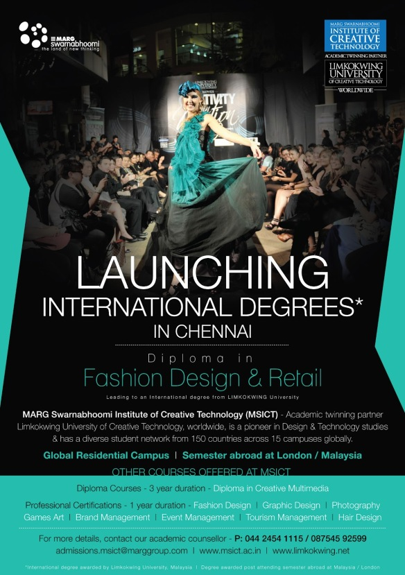 Diploma In Fashion Design Retail Marg Limited